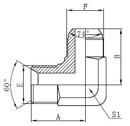 BSP гидравликалық адаптерлерді сызу