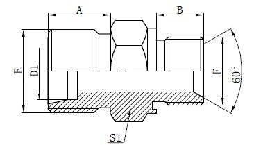 Captive Seal Adapter Fittings