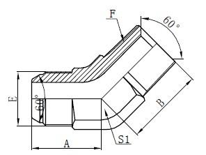 JIS GAS локтес коннекторларды салу