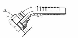 R1AT гидравликалық шлангтың жинағы